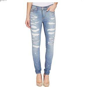 Hudson Rip & Repair Nico Skinny Jeans